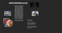 Preview of akmotorspares.co.uk
